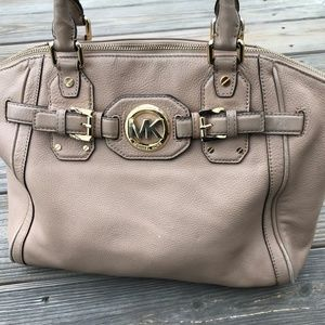 Michael Kors Women Handbag Shoulder Bag Gold Hardw